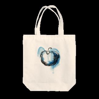 eauのBlue apple Tote bags