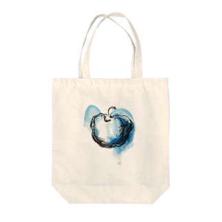 eauのBlue apple Tote bags