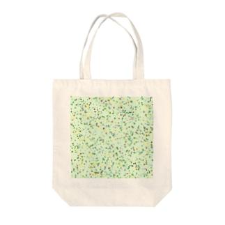 Random Paint(Botanical Colors01) Tote bags