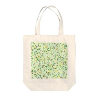 Random Paint(Botanical Colors02) Tote bags
