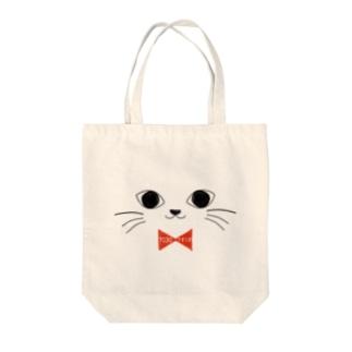 ニャー太 Tote bags