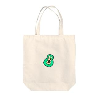 カピバラかウサギかクマ Tote bags