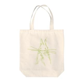 うざぎ Tote bags
