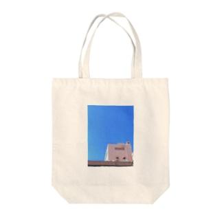 解像 Tote bags