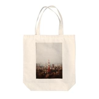 今だから東京タワー Tote bags