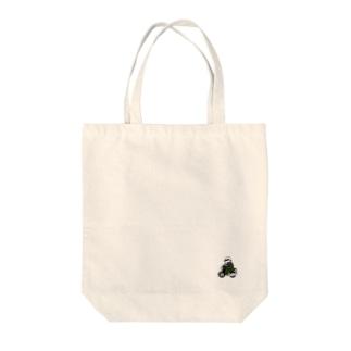 弁慶バイク(カラー) Tote bags