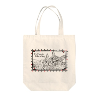 It's Time to Take a Nap Tote bags