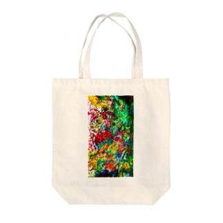 絵画の花 Tote bags