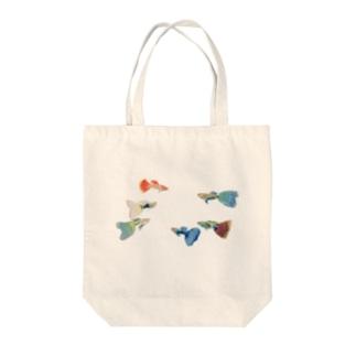 お魚トート Tote bags