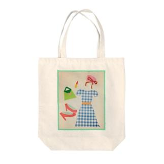 レディースタイル Tote bags