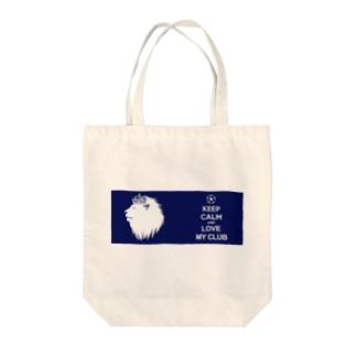 ラブキング Tote bags