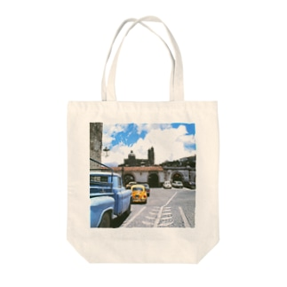 FUCHSGOLDのメキシコ:タスコの風景写真 Mexico: view of Taxco Tote bags