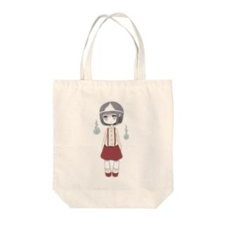 といれの花子ちゃん Tote bags