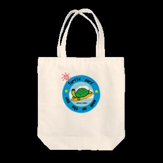 decoppaのサーフィンカメさん Tote bags