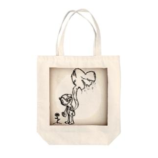 笑顔の代償:ゾンビ猫(仮)ちゃん Tote bags