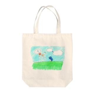 まてまて~~ Tote bags