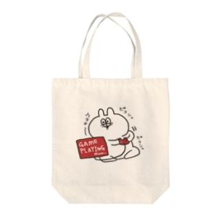 あじうさくん Tote bags