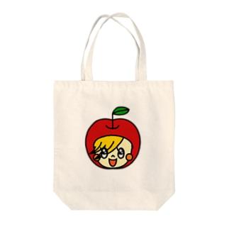 おかえリンゴ Tote bags