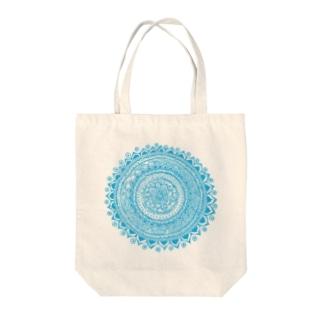 サークル・ミズイロ Tote bags