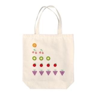 ボタンフルーツ5。だワン Tote bags