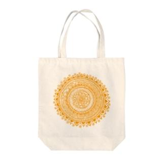 サークル・オレンヂ Tote bags