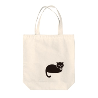 昼寝猫 Tote bags