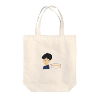 What's wrong Sukashi-kun Tote bags