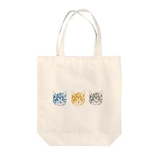 ネコとソラの3CAT Tote Bag