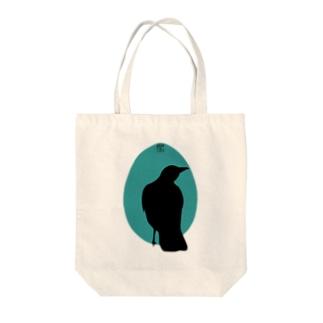 カラス(3) Tote bags