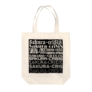 Sakura-criSiS logo Tote bags
