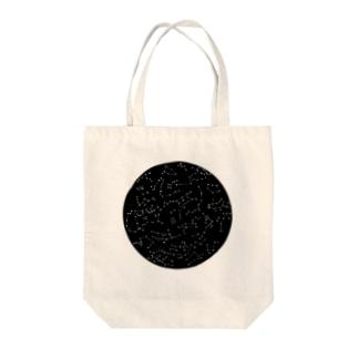 宇宙の丸穴 トートバッグ