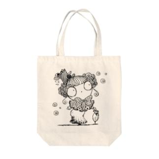 貴婦人マリエ Tote bags