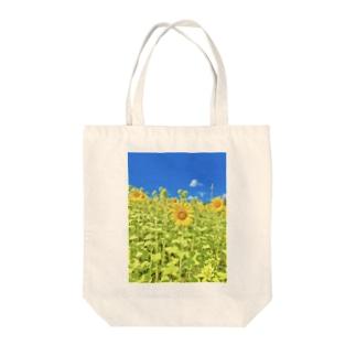 石垣島のひまわり Tote bags