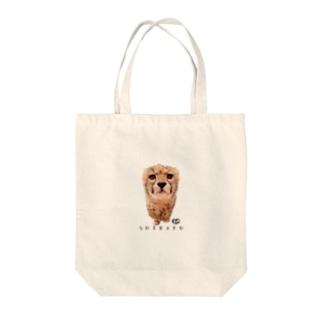 ワンポイントしばふ Tote bags