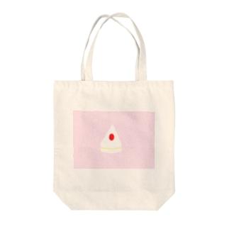 ショートケーキ Tote bags