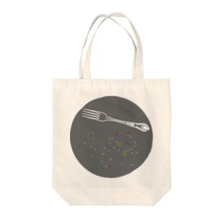六三八デザイン室のdinner-sakana Tote bags