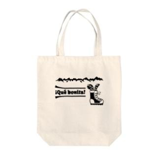 海の生き物山へ行く Tote bags