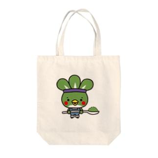 粉ドリ君 Tote bags