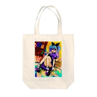 魔女見習いちゃん Tote bags