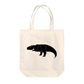 ティラノサウルス Tote bags