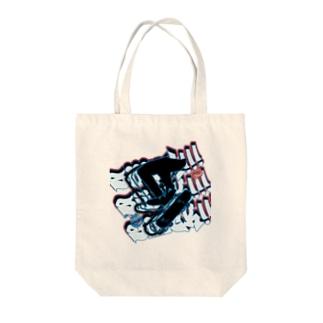 スケボー🛹 Tote bags