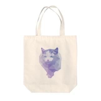 polygon cat~ポリゴンキャット Tote bags
