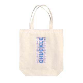 青ロゴ Tote bags