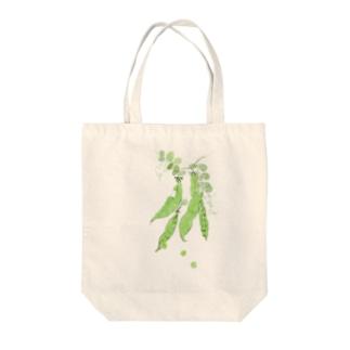 豆 Tote bags