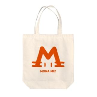 mizcoreのMONAMI猫オレンジ Tote bags
