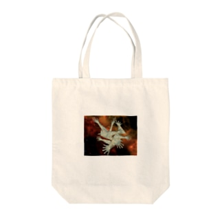宇宙とタトゥー Tote bags