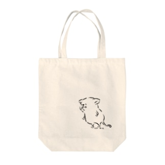 トロワ イラスト&写真館のしょぼしょぼ Tote bags
