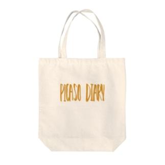ピカソの日記【トートバック】 Tote bags