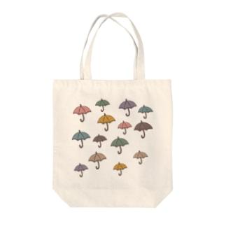 雨に負けるな Tote bags