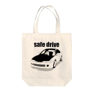 運転するながいも Tote bags
